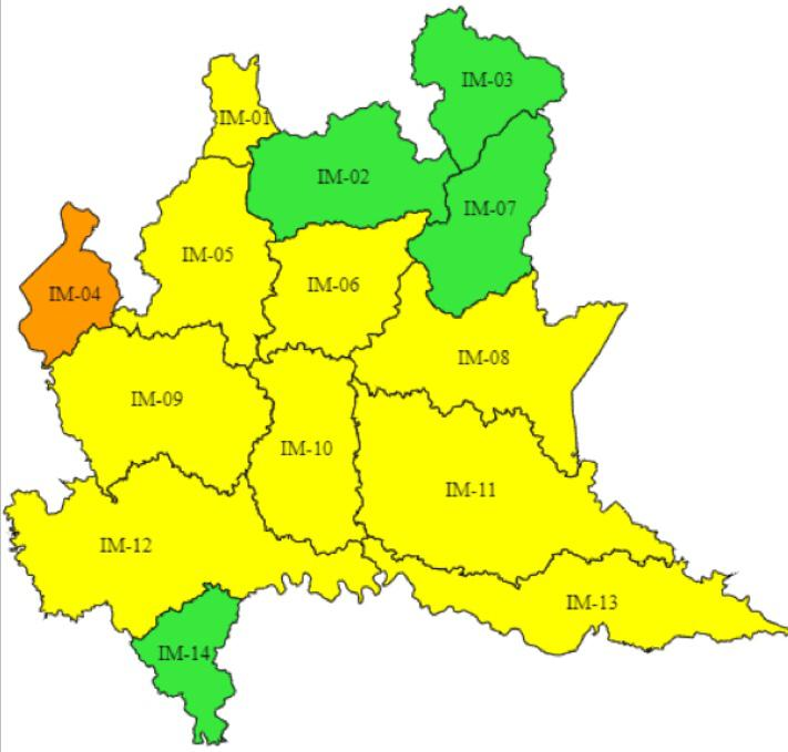 Cartina Lombardia Laghi.Allerta Meteo Arancione Della Protezione Civile Per La Zona Dei Laghi E Delle Prealpi Varesine Varesenoi It