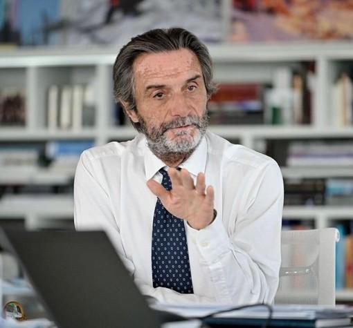 """""""Piano Lombardia"""". Fontana: «Subito 3 mila cantieri e 400 milioni ai Comuni»"""
