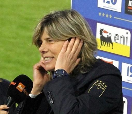 Il ct azzurro Milena Bertolini può sorridere: ottimo 2-0 dell'Italia a Palermo