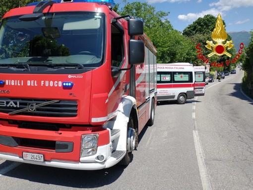 Due incidenti in venti minuti sulle strade del Varesotto: sei feriti a Bodio e Germignaga