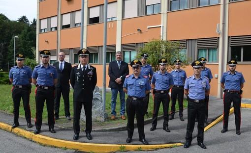 Undici nuovi sottufficiali per i carabinieri di Varese. A dare loro il benvenuto il comandante provinciale