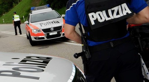 (foto di repertorio dalla pagina Facebook della polizia cantonale ticinese)
