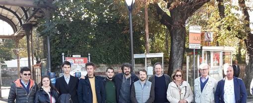 Varese, sopralluogo della Lega nell'area stazioni: «Degrado in aumento, il progetto di rifacimento non la migliorerà»