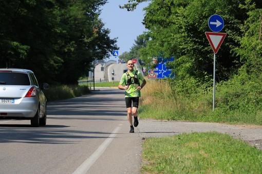 Galliate, Andrea Arnaboldi ha un cuore che non si ferma mai: percorre 630 chilometri per ricordare l'amico scomparso