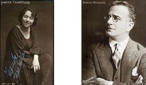 """Tornano """"I Tombaroli"""": al Salone Estense omaggio in musica al direttore d'orchestra Roberto Moranzoni e al soprano Juanita Caracciolo"""