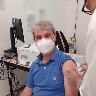 Galimberti, sindaco vaccinato come il 60% dei varesini