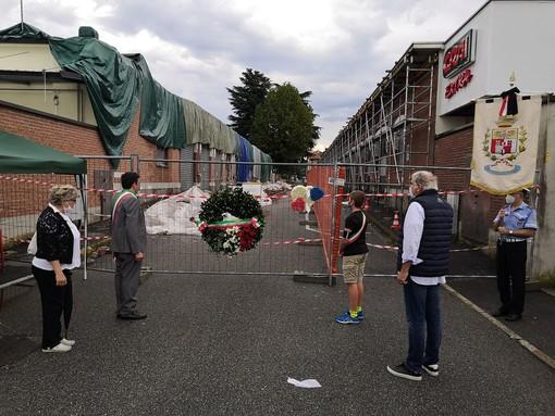 Albizzate, il giorno del lutto e del ricordo dei morti del crollo di via Marconi