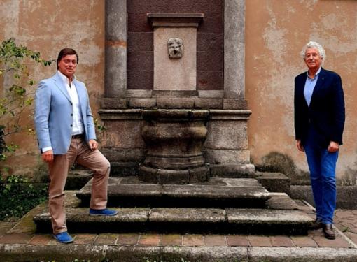 Antonello Minino con il Vice Presidente Filasc Pietro Bonfiglio