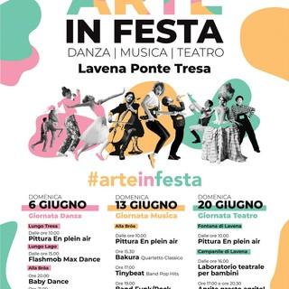 """""""Arte in Festa"""" a Lavena Ponte Tresa"""
