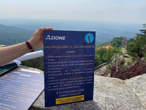 VIDEO E FOTO. «Sacro Monte pedonale nei weekend con molte più navette e Torre Civica aperta a tutti i cittadini. Come i sottopassi»