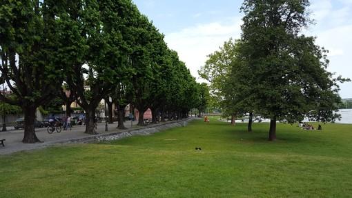 Il lungolago di Angera, una delle zona preferite dagli acquirenti di case