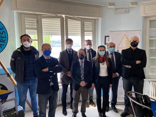 VIDEO E FOTO. Il convegno di Aime sul futuro del lago di Varese: «Da qui passa il futuro turistico ed economico del nostro territorio»