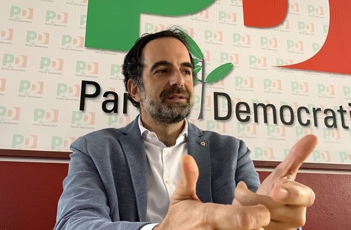 Elezioni Laveno, la lista del Centrosinistra chiude la campagna elettorale con un aperitivo: presente anche il senatore Alfieri