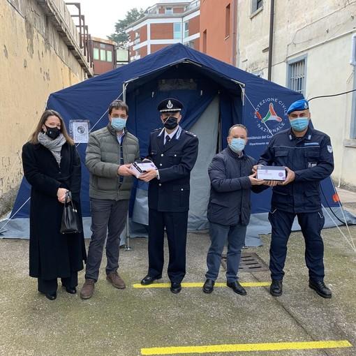 L'azienda Maghetti dona test rapidi anti Covid al carcere di Varese e all'associazione Sanità di Frontiera