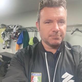 Un cuore giallonero team leader dell'Italia di sledge hockey. Longhi: «Questi ragazzi meritano tutto»