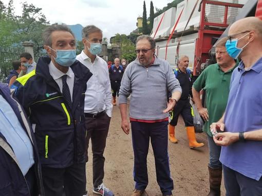 Fontana e i danni del maltempo: «Chiesto lo stato di emergenza per le province di Varese e Como»