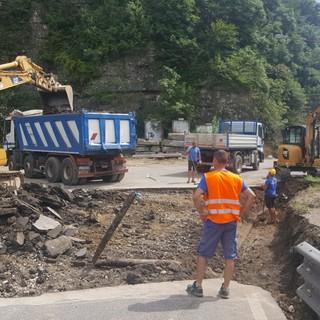 Iniziati a Besozzo i lavori di realizzazione del sottopasso del parco fluviale attorno al Bardello