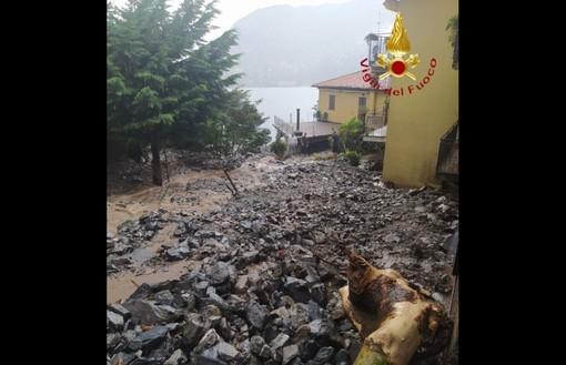 FOTO. Disastro a Blevio, frana e famiglie sfollate. Danni in tutta la provincia di Como
