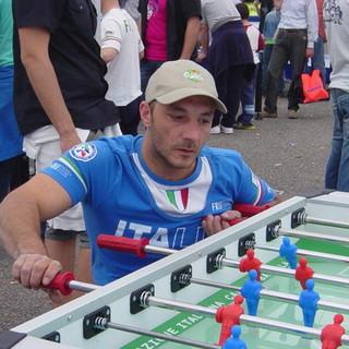 Francesco Bonanno campione paraolimpico di calcio balilla di Besozzo