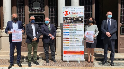 La presentazione di BA Classica a Villa Ottolini-Tosi
