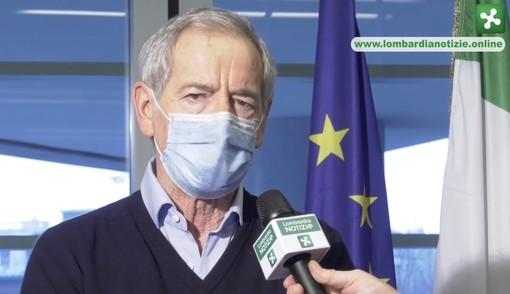 Bertolaso: «Variante scozzese del virus in un paio di comuni del Varesotto»