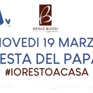 «Restiamo a casa ma festeggiamo la festa del papà»: Pasticceria Buosi, un giorno di consegne speciali