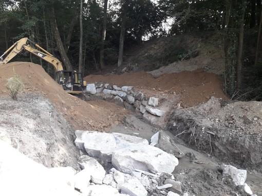 Besozzo investe sulla prevenzione del dissesto idrogeologico: iniziati i lavori a Cardana