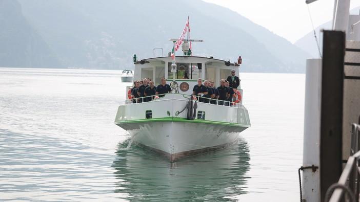 Inaugurato in Canton Ticino il primo battello di linea completamente elettrico