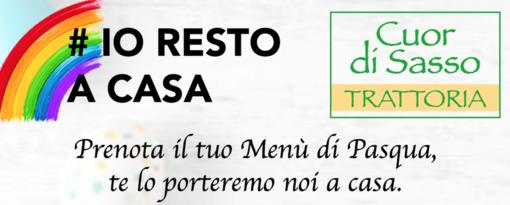 Con il menù del Cuor di Sasso potrete gustare a casa vostra una Pasqua nel solco genuino della tradizione italiana