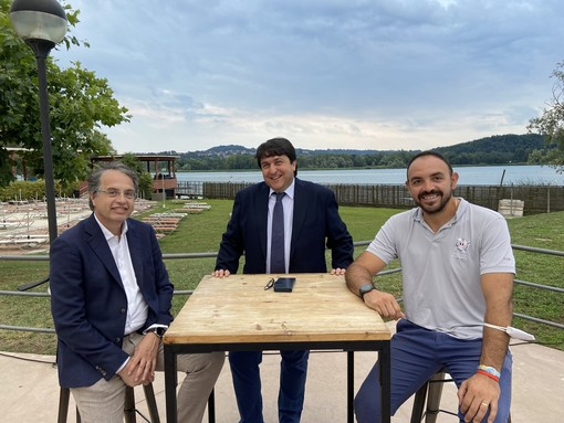 VIDEO e FOTO - Frattini e Coletto a Backstage Estate: «Attraverso lo sport rilanciamo Varese»