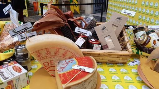 Tra i prodotti contadini salvati dalla pandemia in mostra a Roma anche i formaggi di capra Varzaschese dell'Alto Varesotto