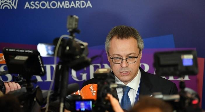 Il presidente di Confindustria Carlo Bonomi
