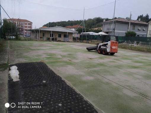 Iniziati oggi a Cavaria con Premezzo i lavori di riqualificazione del centro sportivo di via Marcora