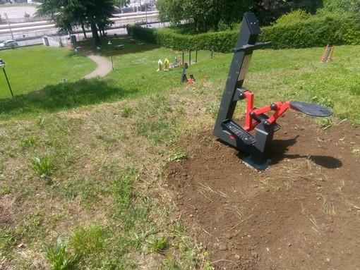"Cocquio Trevisago: pronto il parco ""palestra"" per allenarsi al sicuro all'aria aperta"