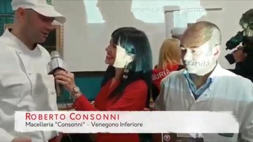 VIDEO. Al campionato di Battuta al Coltello di Trinità (Cuneo) è protagonista la macelleria Consonni di Venegono Inferiore