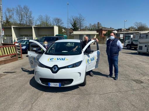 Coronavirus, un'auto elettrica di E-vai a disposizione del Comune di Casciago per i servizi di emergenza