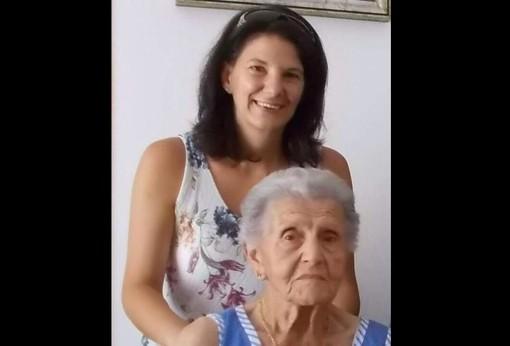 Ernesta Bianchi con la nipote Sabrina