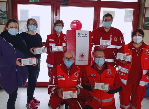 Foto dalla pagina Facebook della Croce Rossa Valceresio