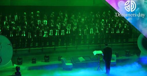 Il Coro Divertimento Vocale di Gallarate, diretto dal Maestro Carlo Morandi