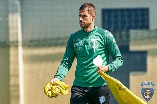 Alessio Dionisi (foto dal profilo Facebook ufficiale dell'Empoli F.C.)