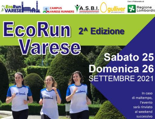Dalla Gulliver Virtual Race alla EcoRun Varese: un nuovo, grande appuntamento con lo sport il 25 e 26 settembre