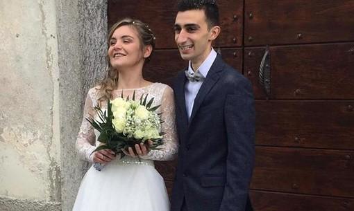 I neosposi Emanuele Parola e Alice Simonetta