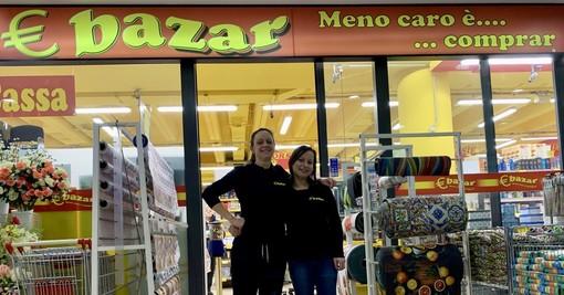 EuroBazar, qualità a buoni prezzi per le famiglie… da una famiglia: «Il segreto è il lavoro di squadra: così sosteniamo i Mastini dell'hockey»