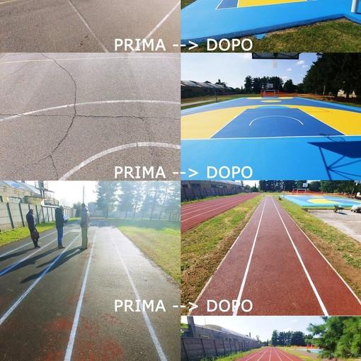 Fagnano Olona, domani l'inaugurazione del nuovo campo da basket e della pista di atletica della scuola Orrù