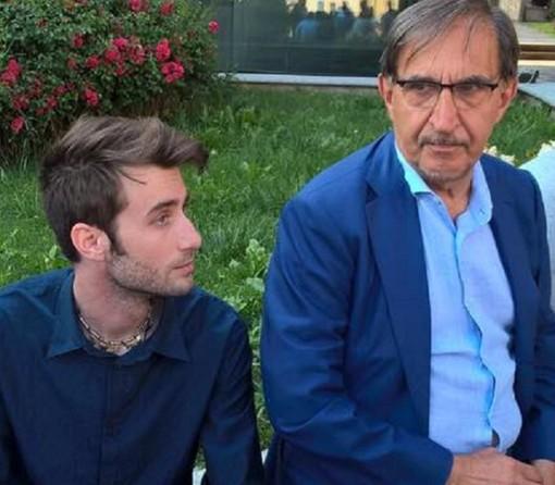 Edoardo Franchin con il sen. Ignazio La Russa