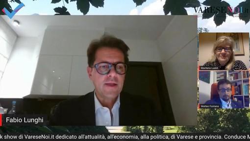 «È il momento di ripartire dalle imprese». Il messaggio di Fabio Lunghi a #Backstage