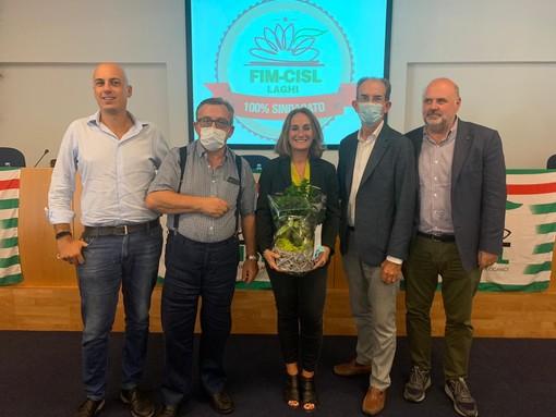 Caterina Valsecchi nuova segretaria generale della Fim Cisl dei Laghi
