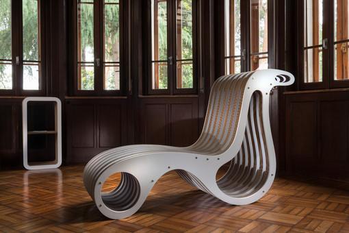 Un arredo di Giorgio Caporaso alla Milano Design Week