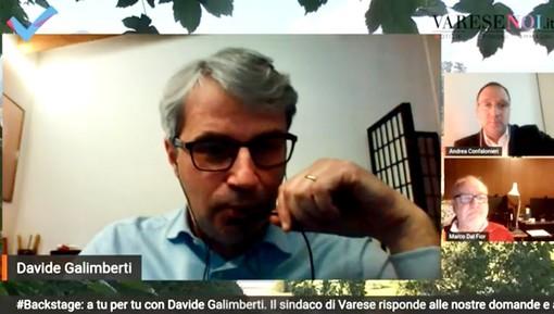 VIDEO. Galimberti a tutto campo a Backstage: «Varese sarà più accessibile, quindi più attrattiva. Noi prendiamo decisioni: prima c'era l'immobilismo»