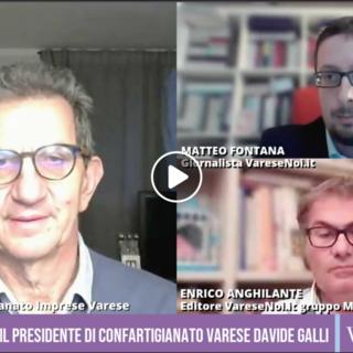 VIDEO. Il presidente di Confartigianato Varese: «Se le attività delle imprese non ripartono entro il 15 aprile, molte non riapriranno più»